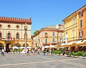 Fußgängerzone, Ravenna, Emilia-Romagna | italien.de