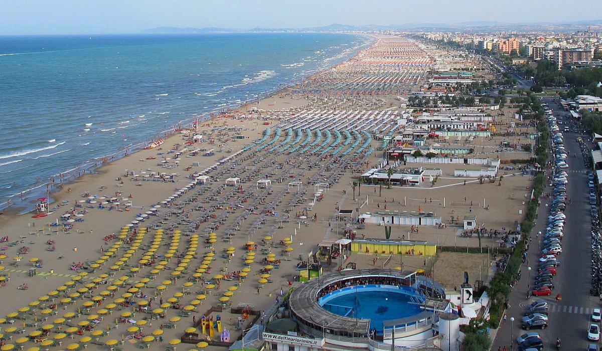 Strand von Rimini, Emilia-Romagna | italien.de