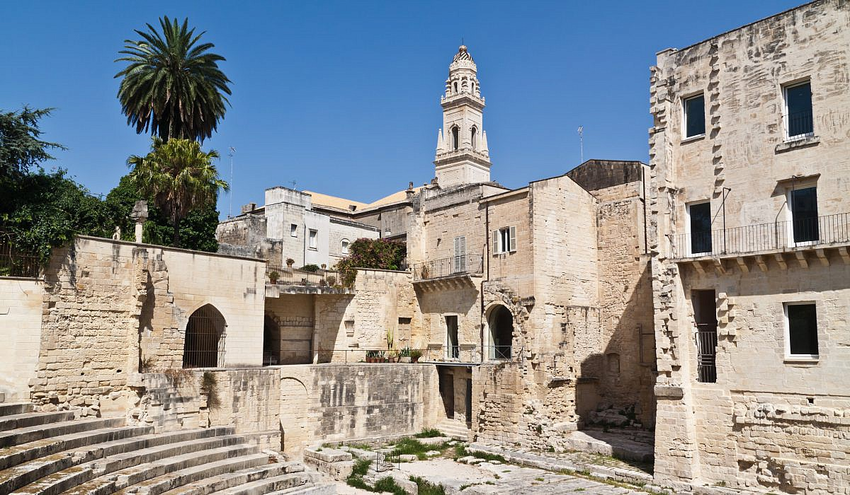 Roemisches Theater in Lecce, Apulien | italien.de
