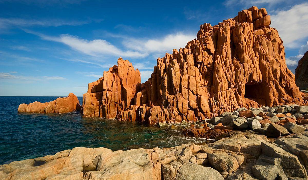 Rote Felsen von Arbatax, Sardinien | italien.de