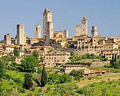 Stadtansicht San Gimignano, Toskana | italien.de