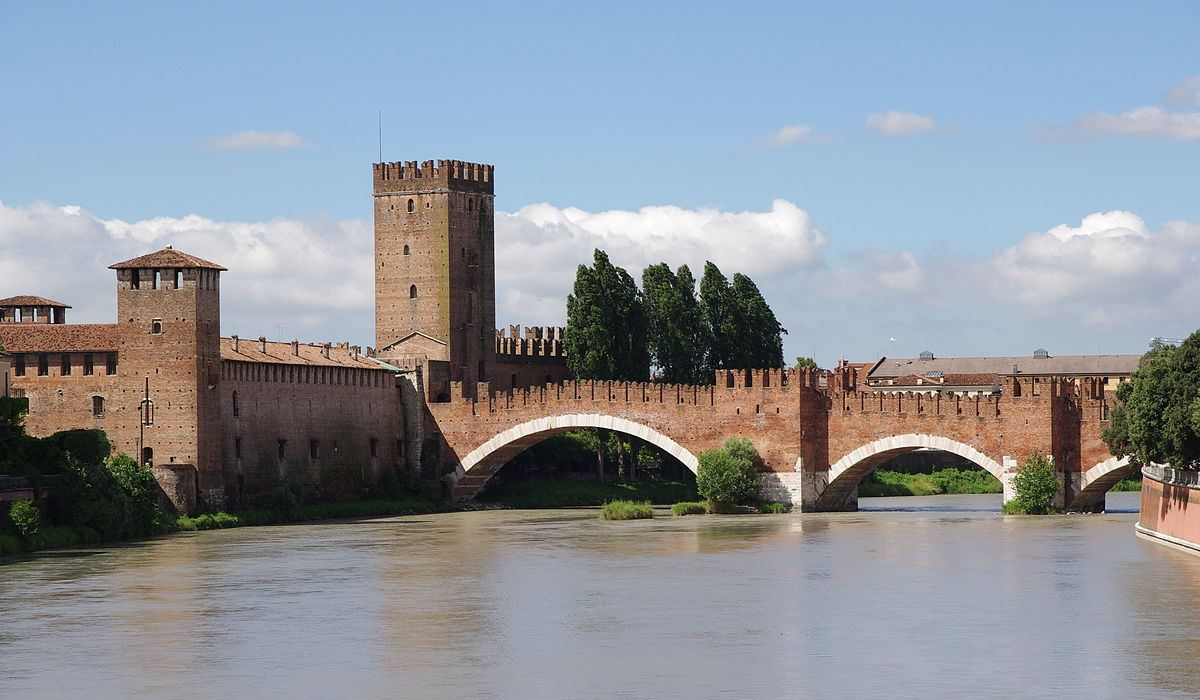Scaligero Brücke, Verona | italien.de