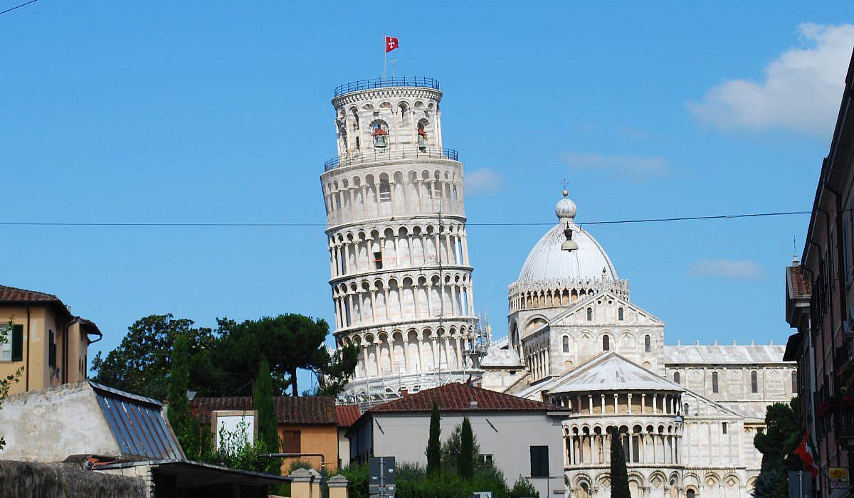 Schiefer Turm von Pisa, Toskana   italien.de