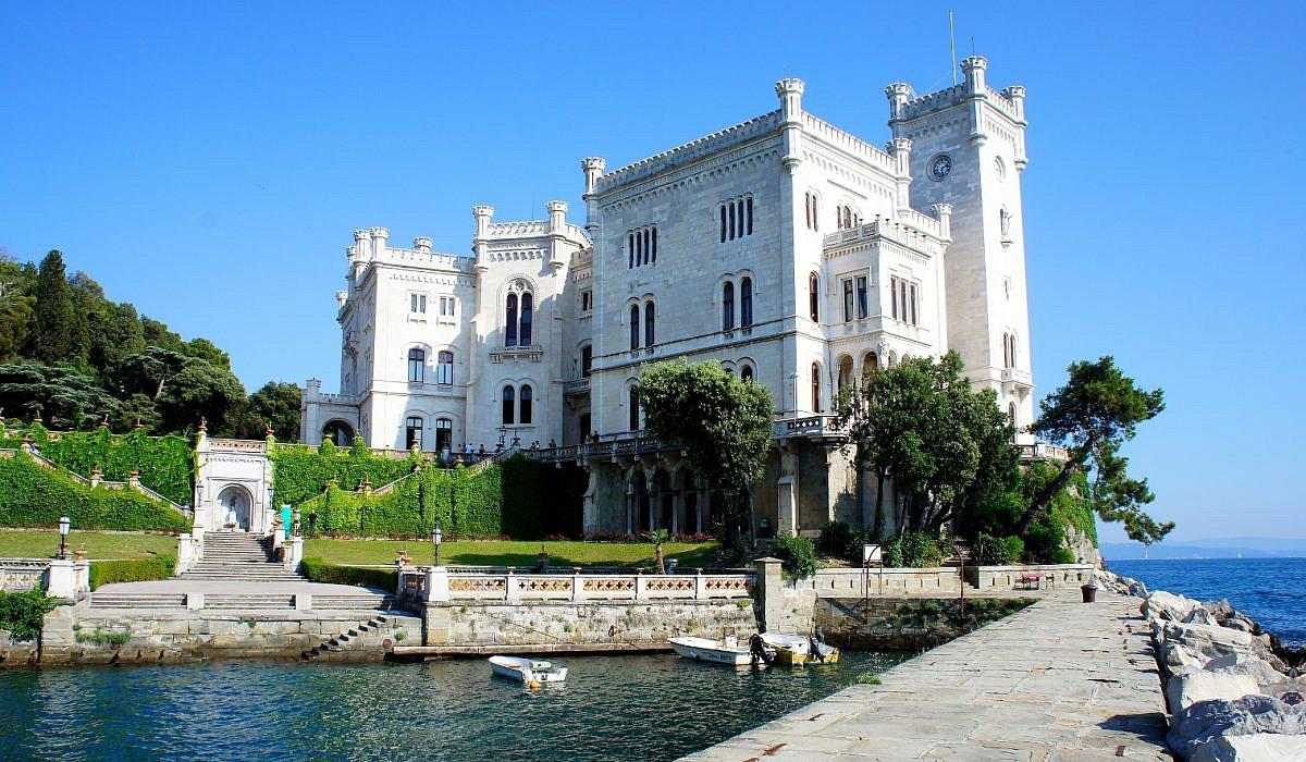 Schloss Miramare bei Triest, Friaul-Julisch Venetien | italien.de