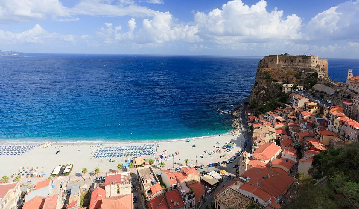 Strand von Scilla, Kalabrien | italien.de