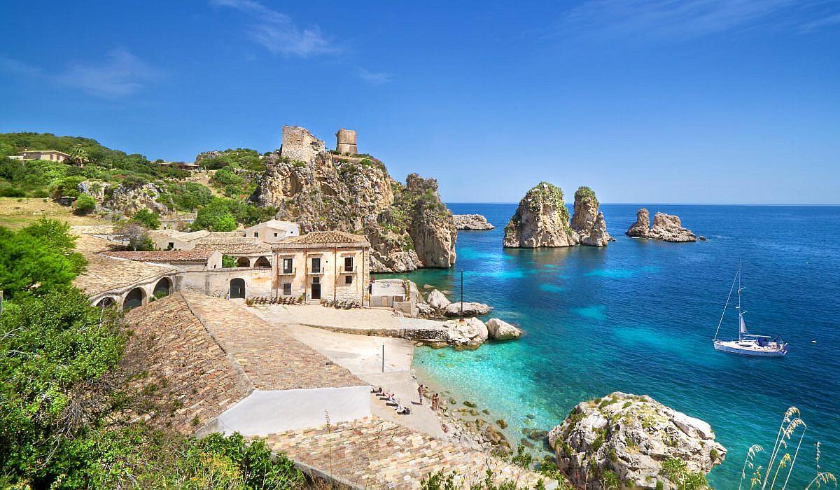 Scopello, Sizilien   italien.de