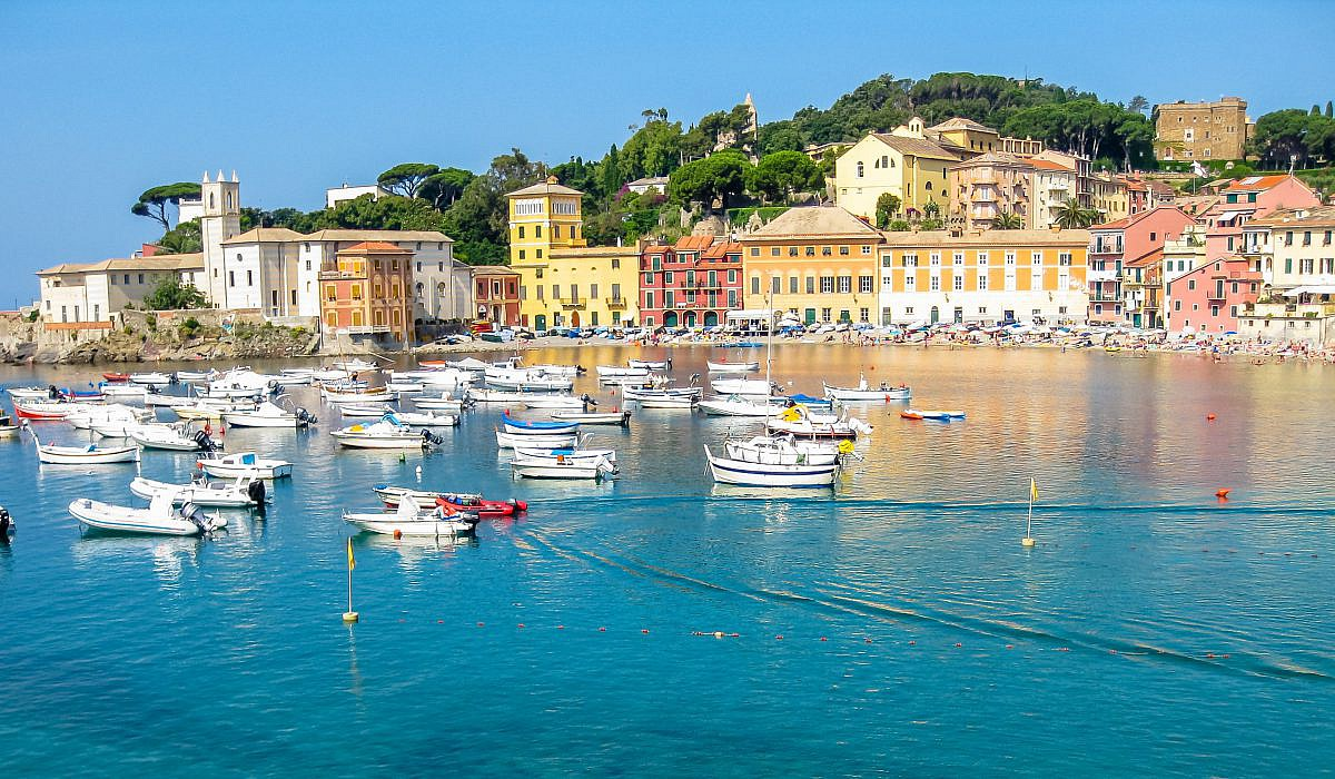 Matrimonio Spiaggia Sestri Levante : Sestri levante ligurien italien