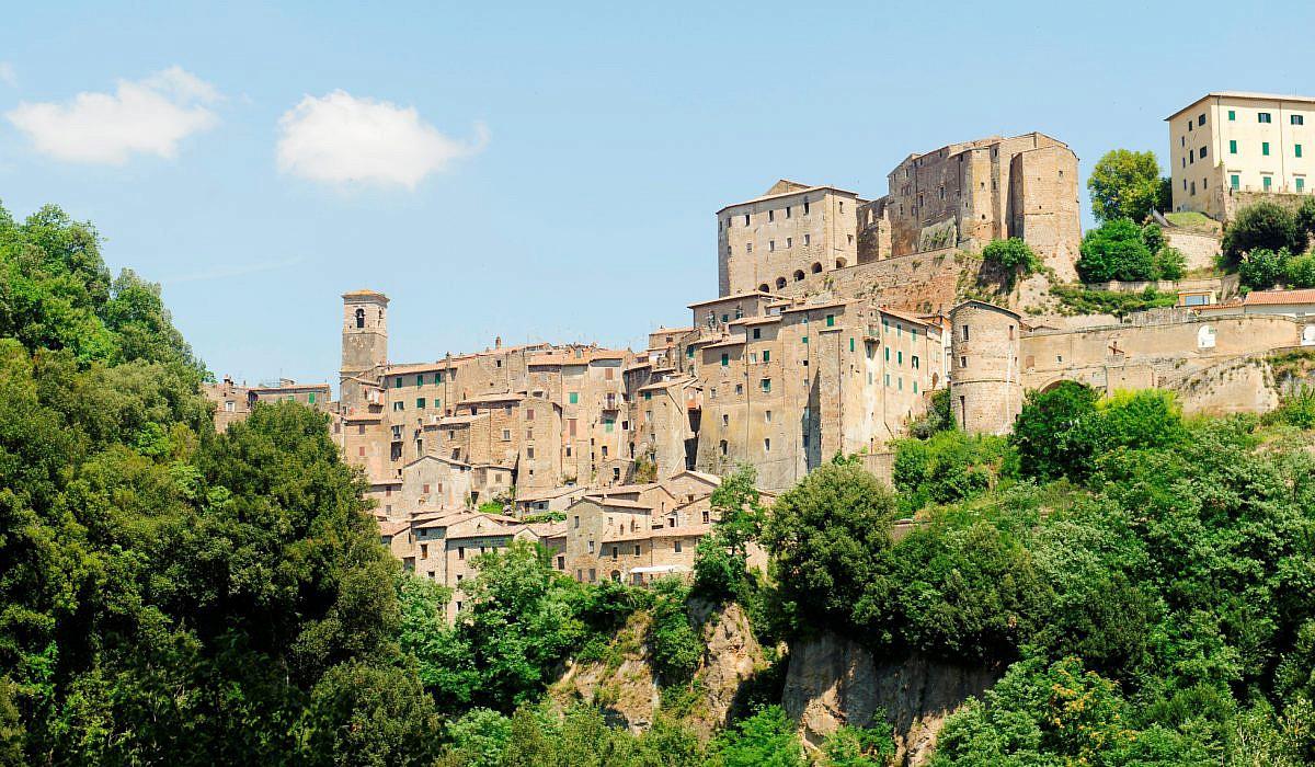 Sorano bei Grosseto, Toskana | italien.de