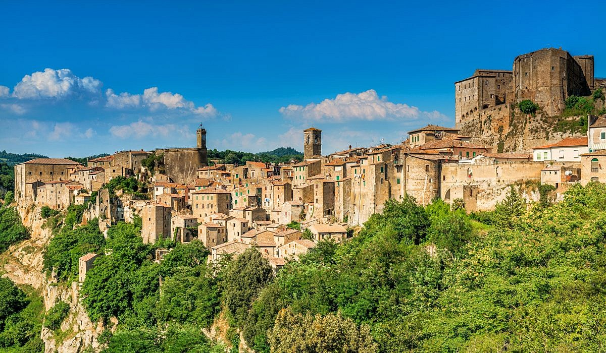 Sorano, Toskana | italien.de