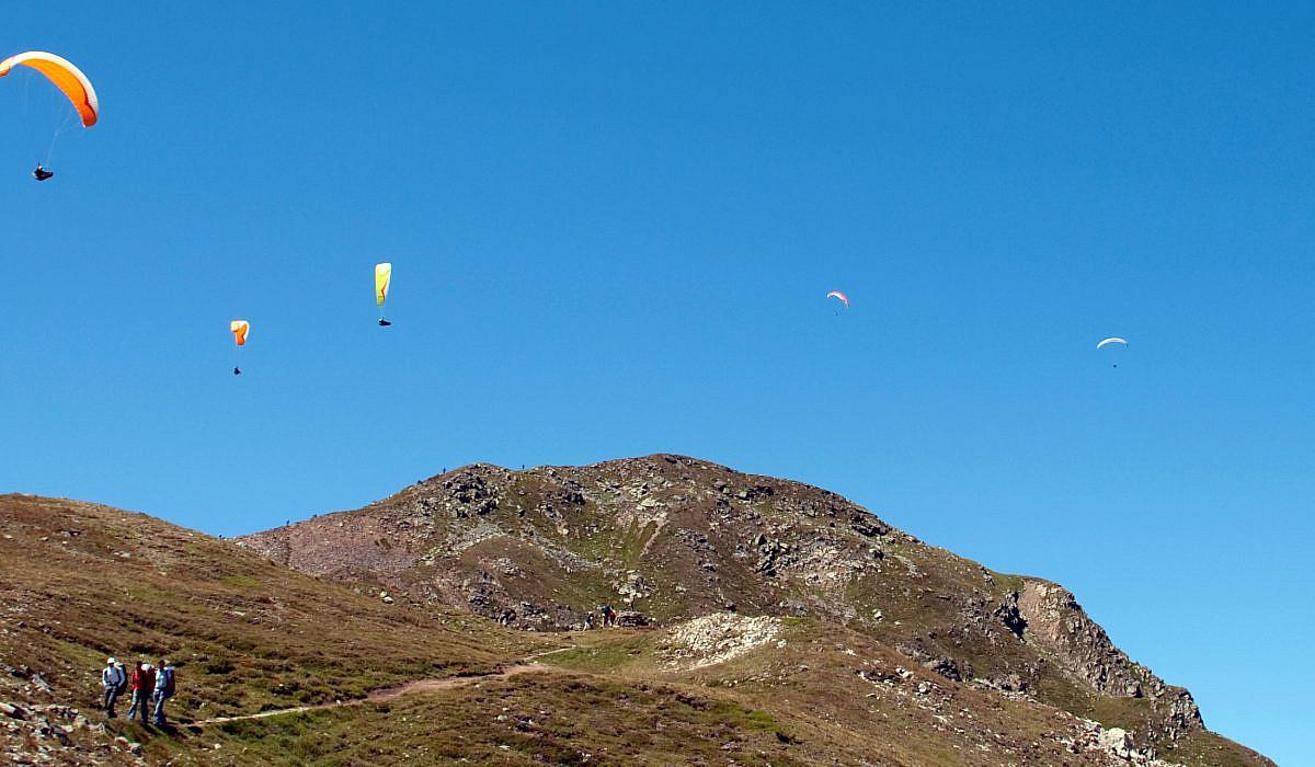 Paragliding am Speikboden, Südtirol | italien.de