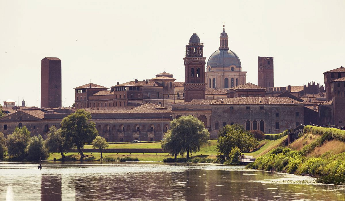 Stadtansicht Mantua, Lombardei | italien.de