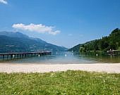 Strände im Trentino und Südtirol: Bandiera Blu 2017