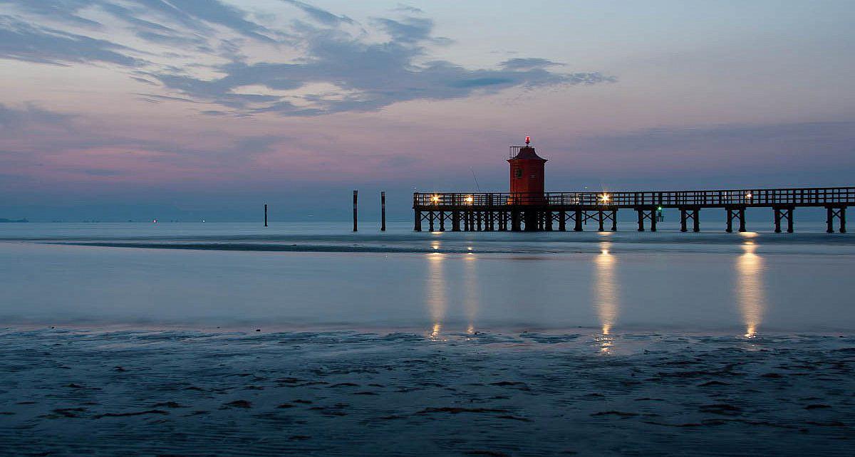 Sonnenuntergang am Strand, Friaul-Julisch Venetien | italien.de