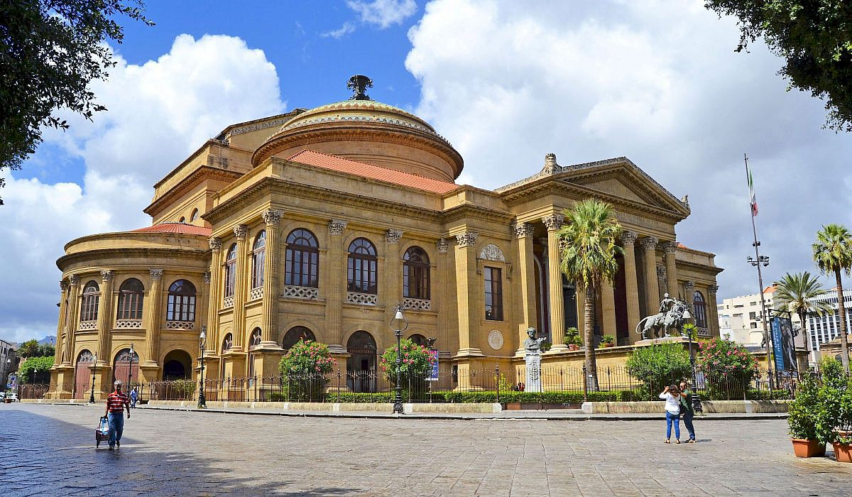 Teatro Massimo, Opernhaus von Palermo, Sizilien | italien.de