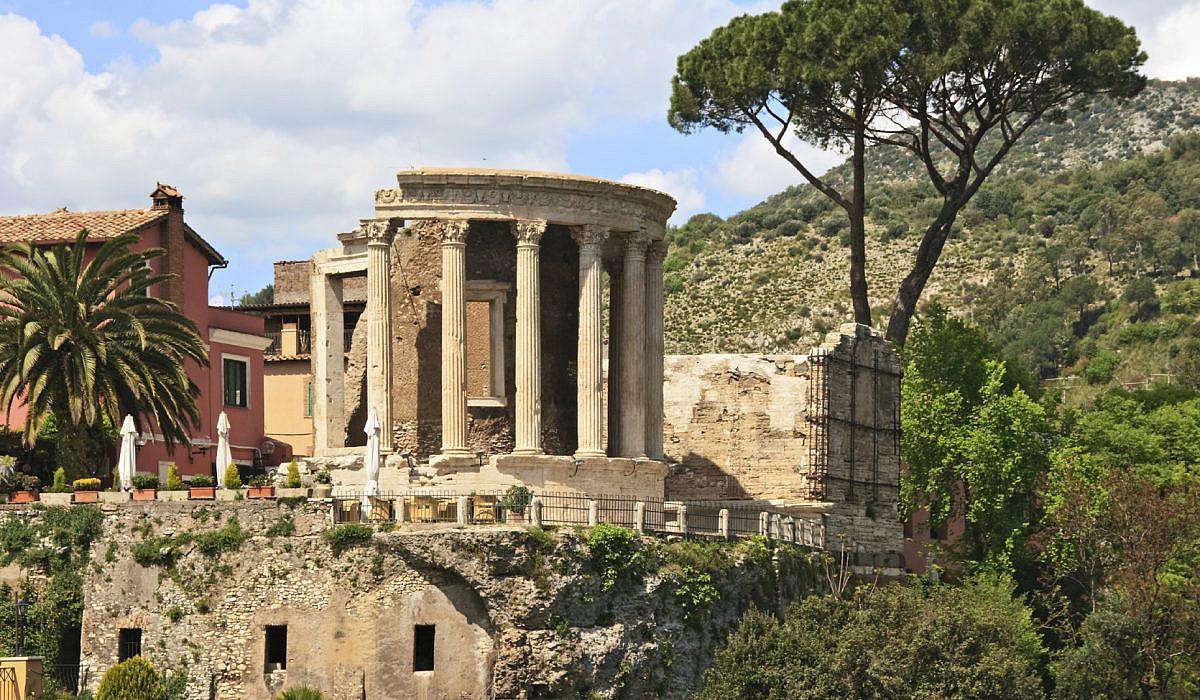 Römischer Tempel in Tivoli, Latium | italien.de
