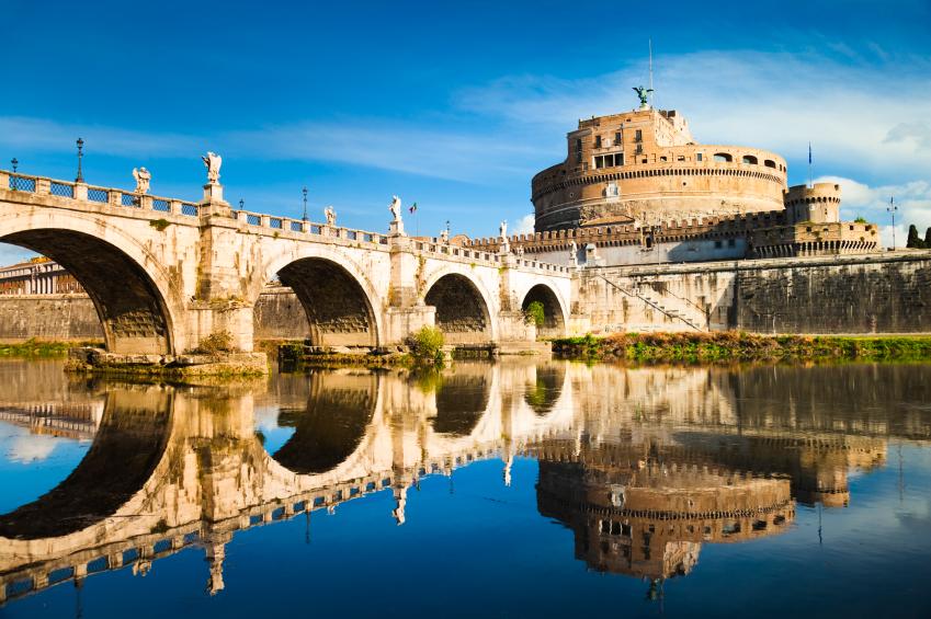 Engelsburg in Rom, Latium | italien.de