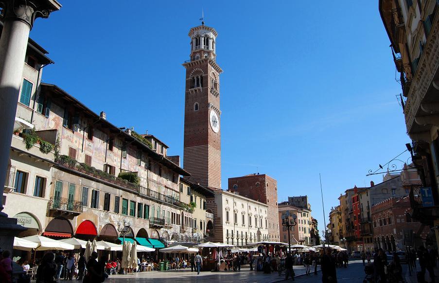 Torre dei Lamberti, Verona | italien.de