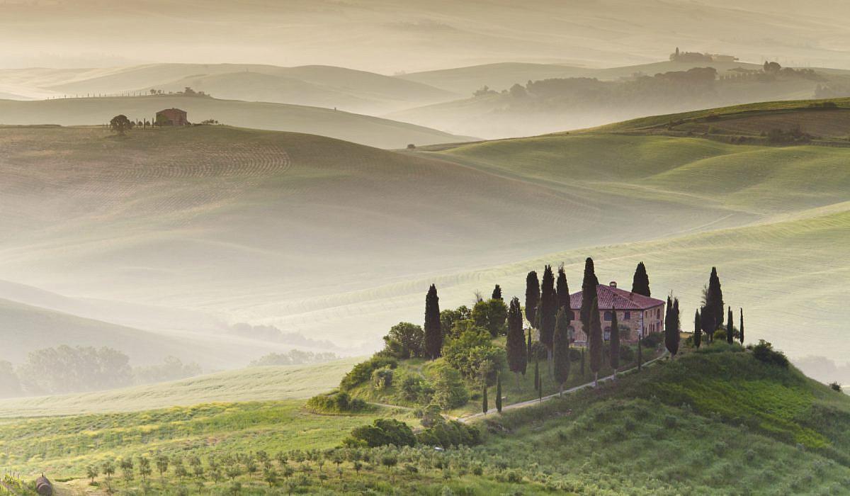 Hügel der Toskana | italien.de