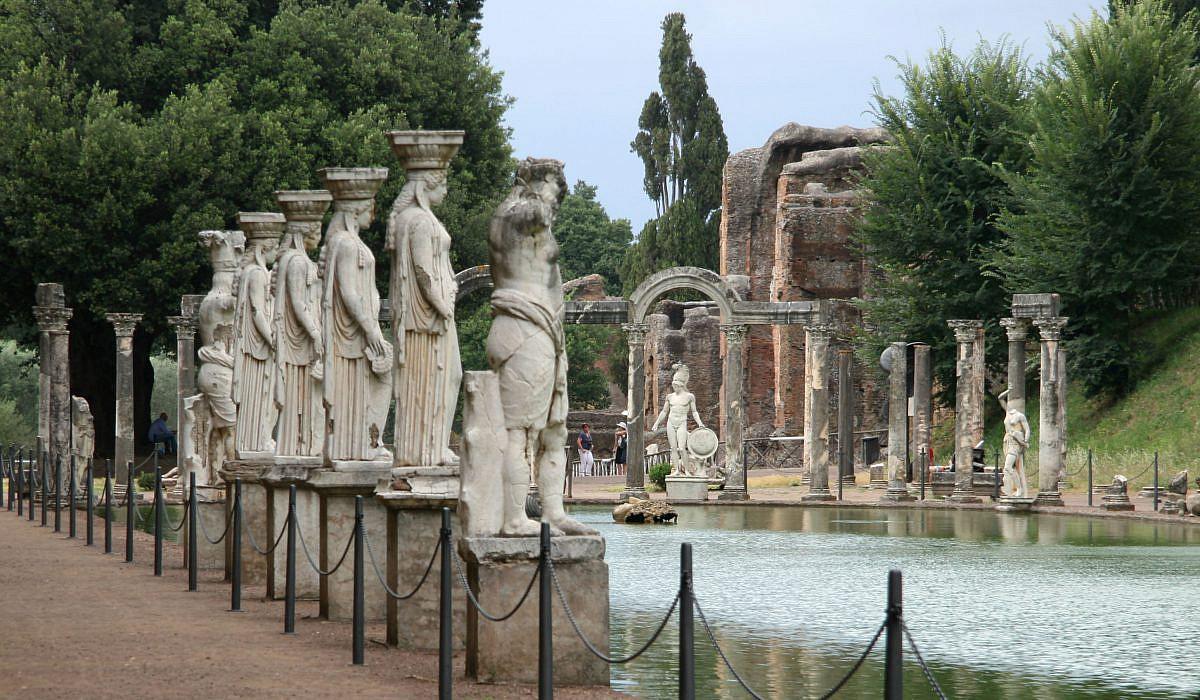 Villa Adriana oder Hadriansvilla bei Tivoli, Latium | italien.de
