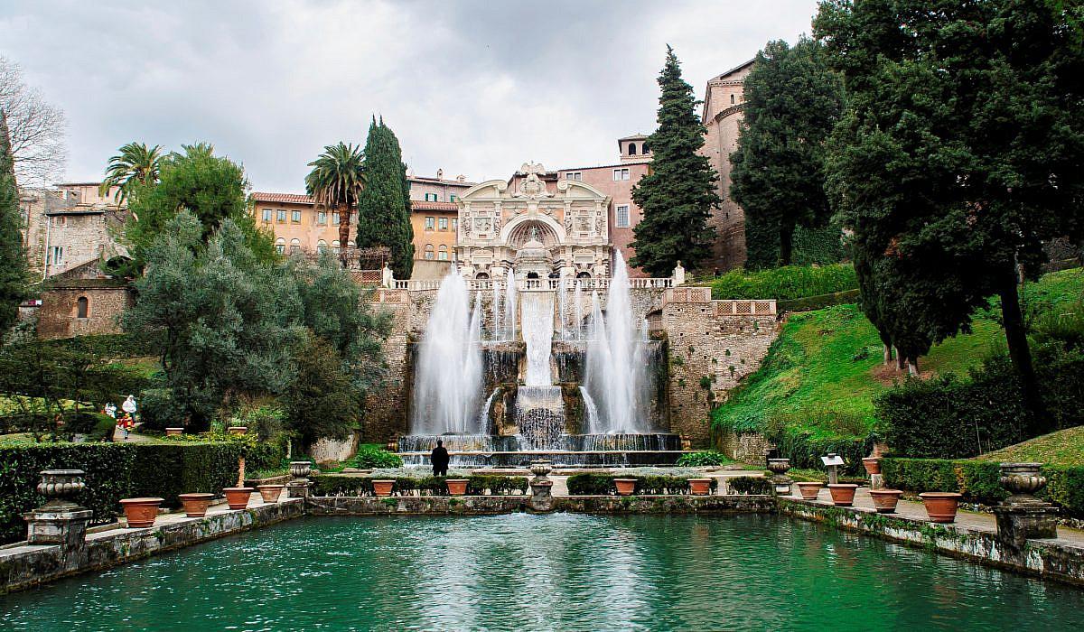 Villa d'Este in Tivoli, Latium | italien.de