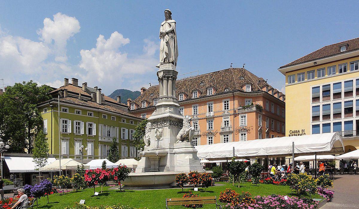 Waltherplatz, Bozen   italien.de