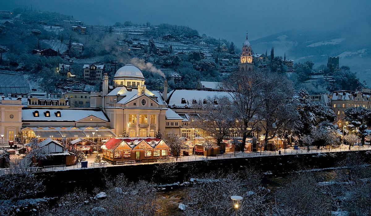 Weihnachtsmarkt in Meran, Südtirol | italien.de