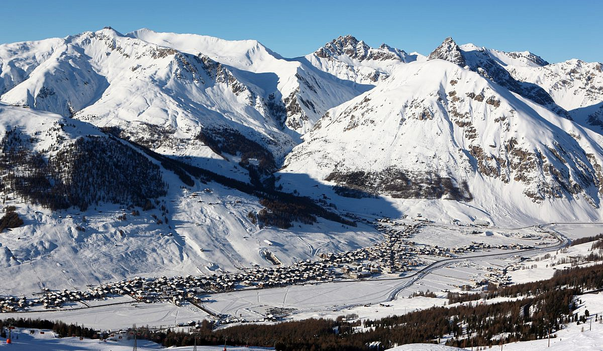 Winter in Livigno, Lombardei | italien.de