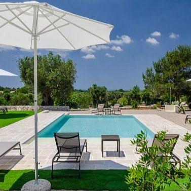 Urlaub im Dorf der Sonne: eigenes Studio mit Kitchenette in Apulien