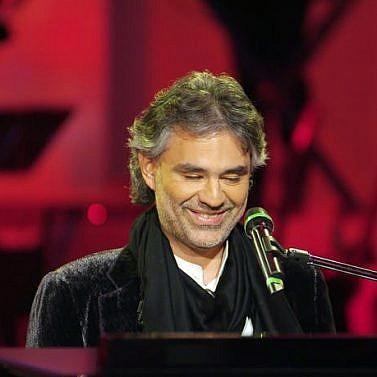 Andrea Bocellis Samtstimme live in Venetien