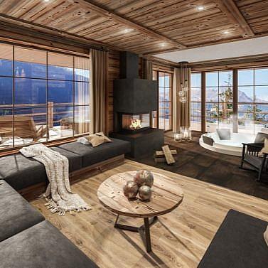 Neu eröffnete Luxuschalets in Südtirol