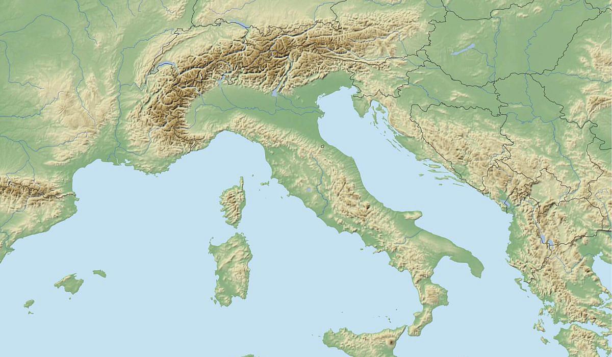 Kostenlose Italien Landkarten Zum Download
