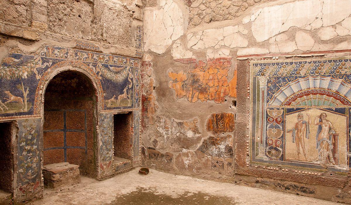 Villa in Herculaneum, Kampanien | italien.de